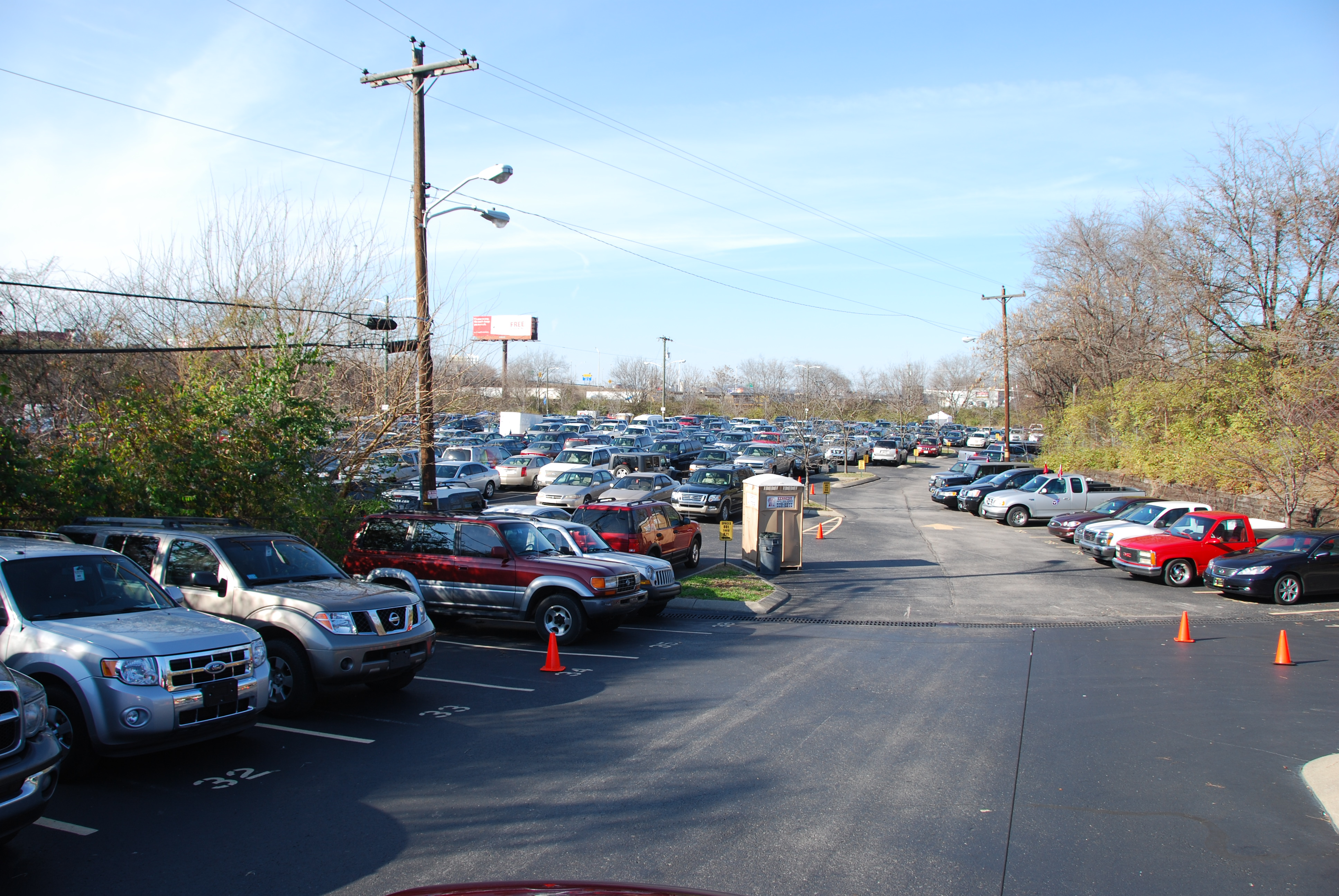 Main Event Parking Lot LP Field - LP Field Parking ...