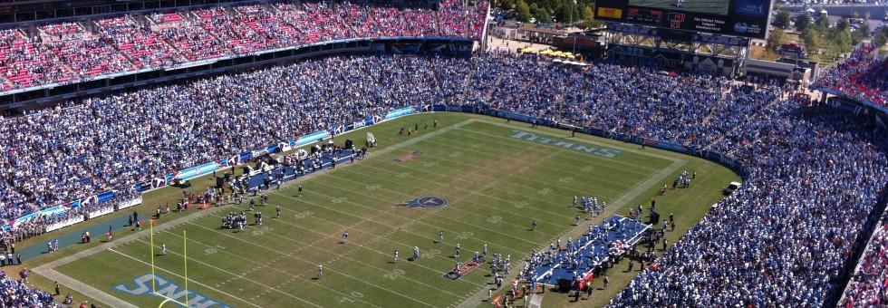 Nissan Stadium Tennessee Titans Stadium