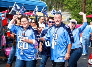 Titans Game Day Parking