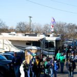 RV Tailgating at Main Event Parking