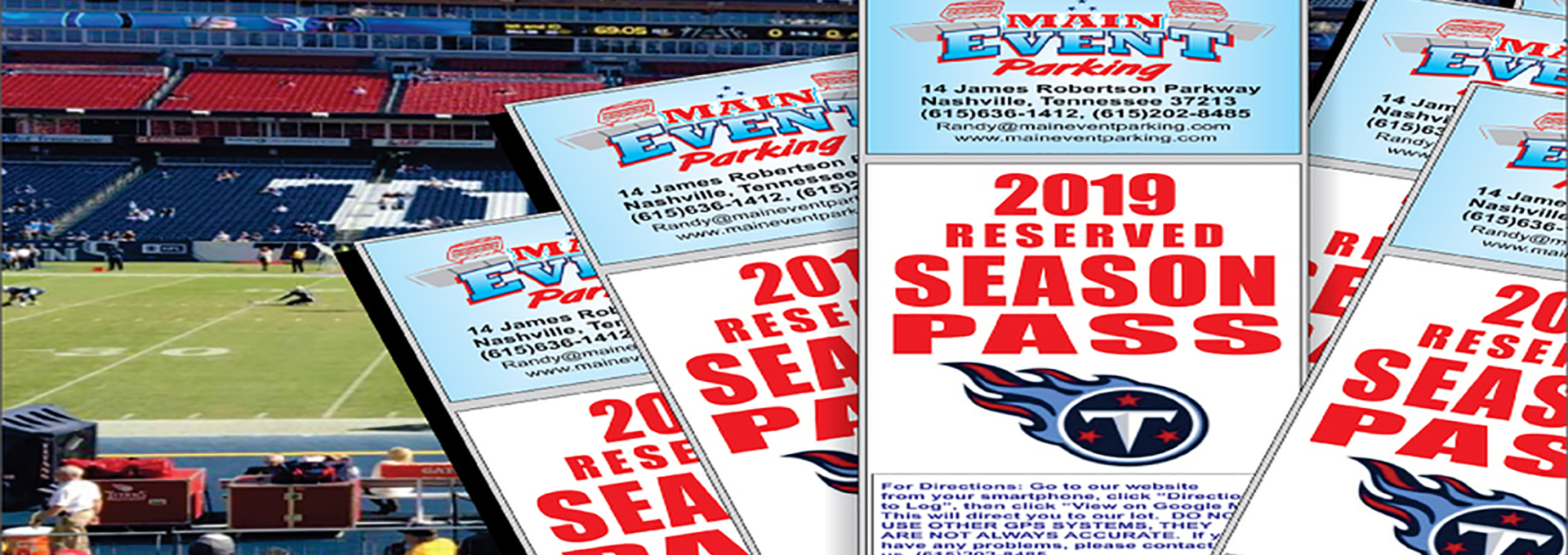2019 Tennessee Titans Season Pass
