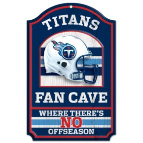 Tennessee Titans Fan Cave Sign