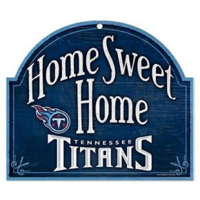 Tennessee Titans Wood Sign