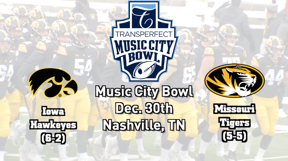 2020 Music City Bowl Game Day Parking