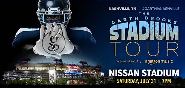 Garth Brooks Stadium Tour Concert Day Parking  $20.00